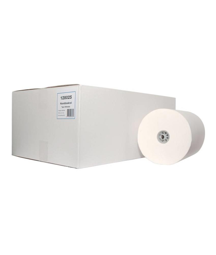 Euro Products 2-laags Handdoekrol Cellulose verlijmd