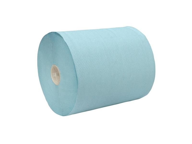 Euro Products Euro Products 2-laags  Handdoekrol rol blauw