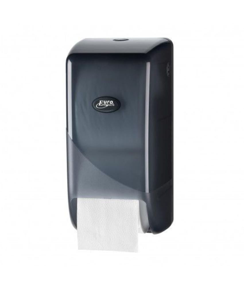 Dispenser Toiletpapier Doprol, zwart