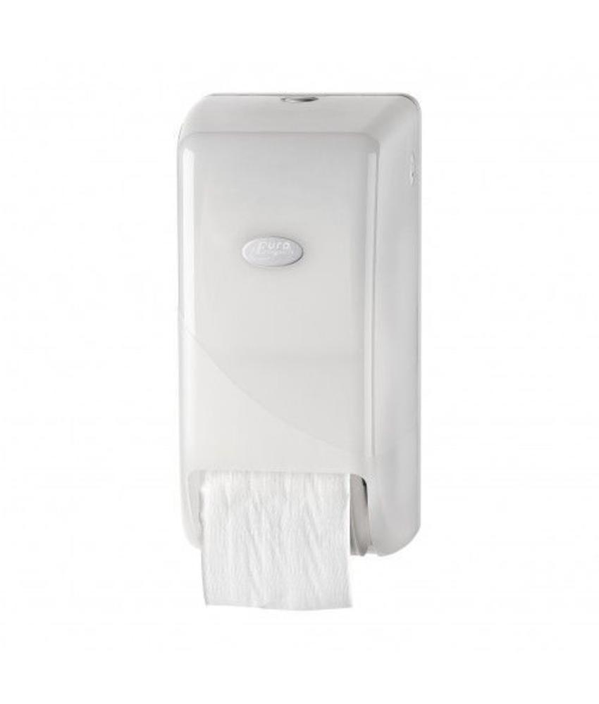 Dispenser Toiletpapier Doprol, wit