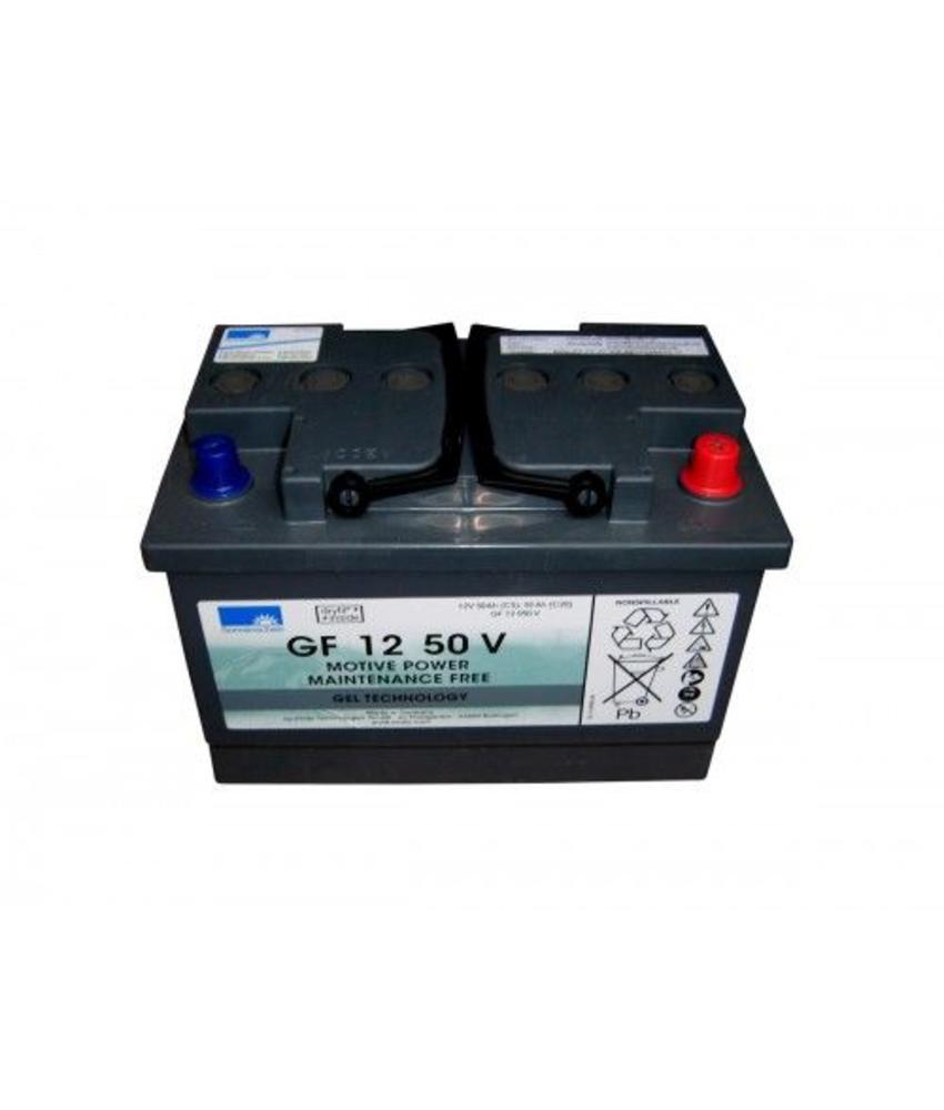 Tractiebatterij 12V, 50 Ah t.b.v. Taski swingo 455 B