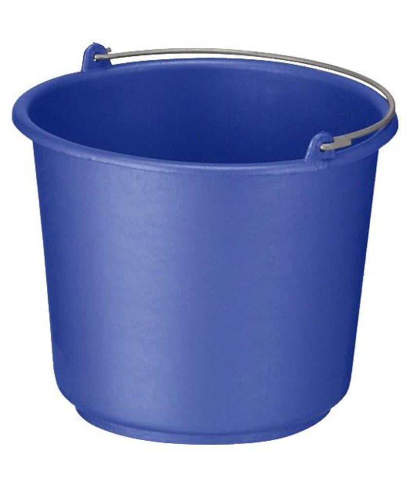 Bouw/glazenwassersemmer blauw