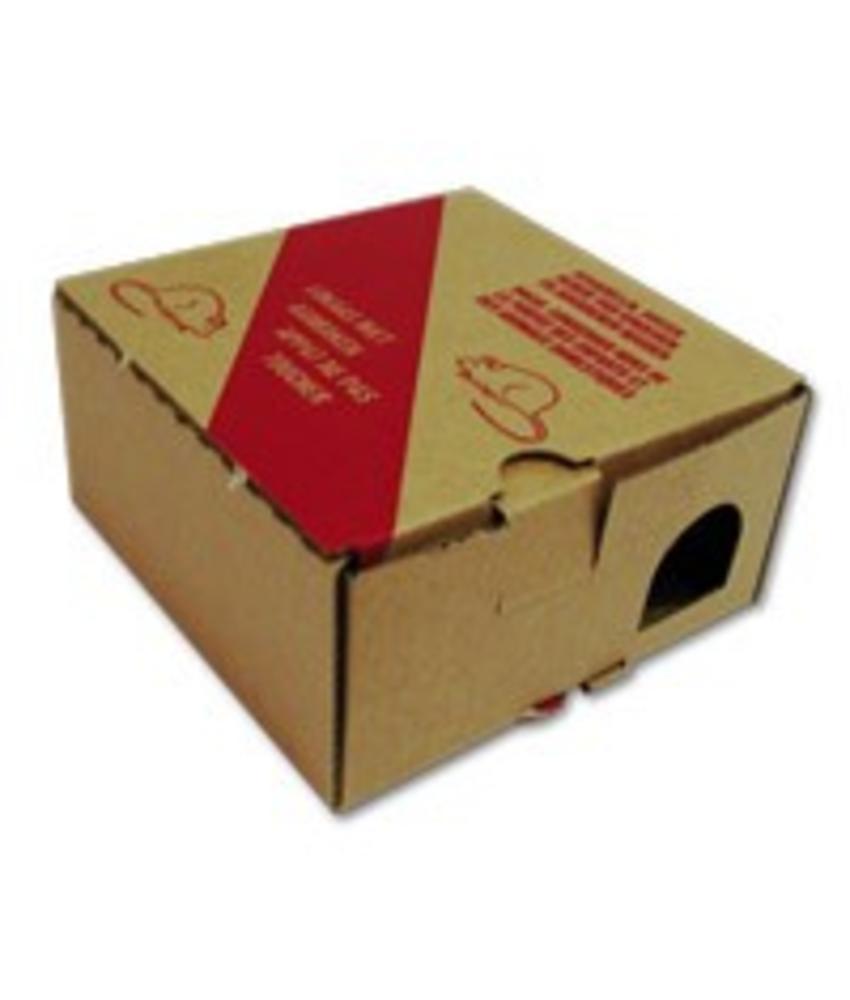 Kartonnen voerdoos - 1 stuk
