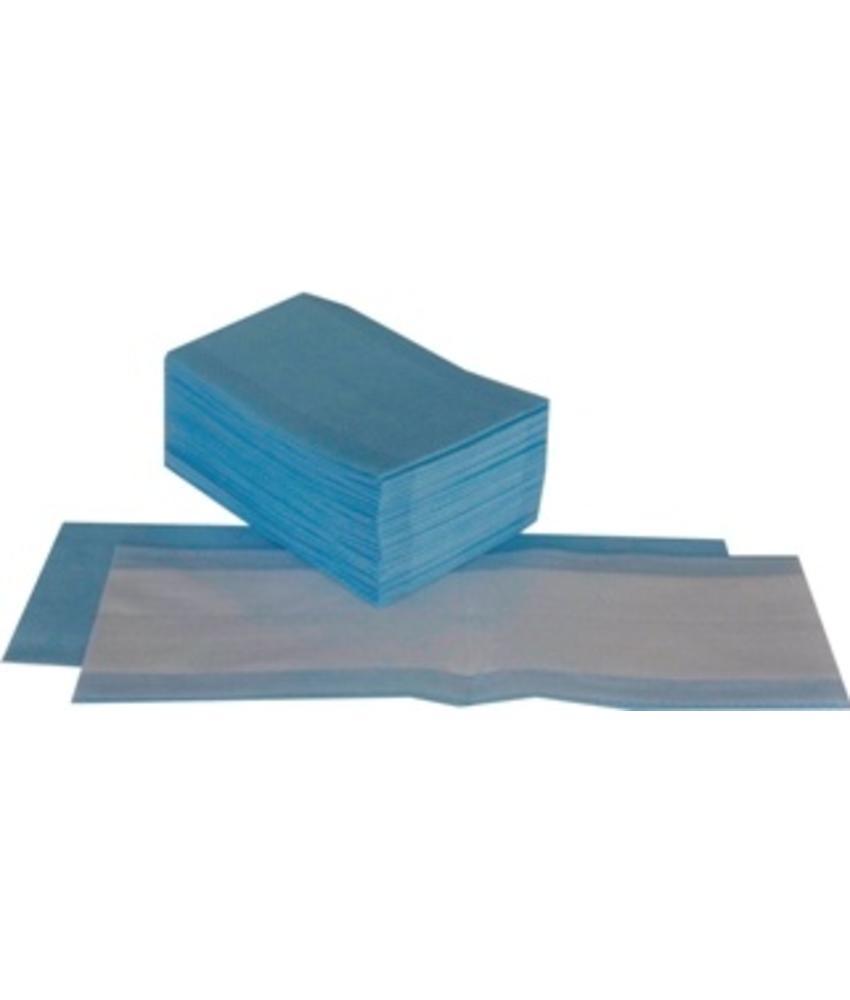Wegwerp vlakmop - blauw