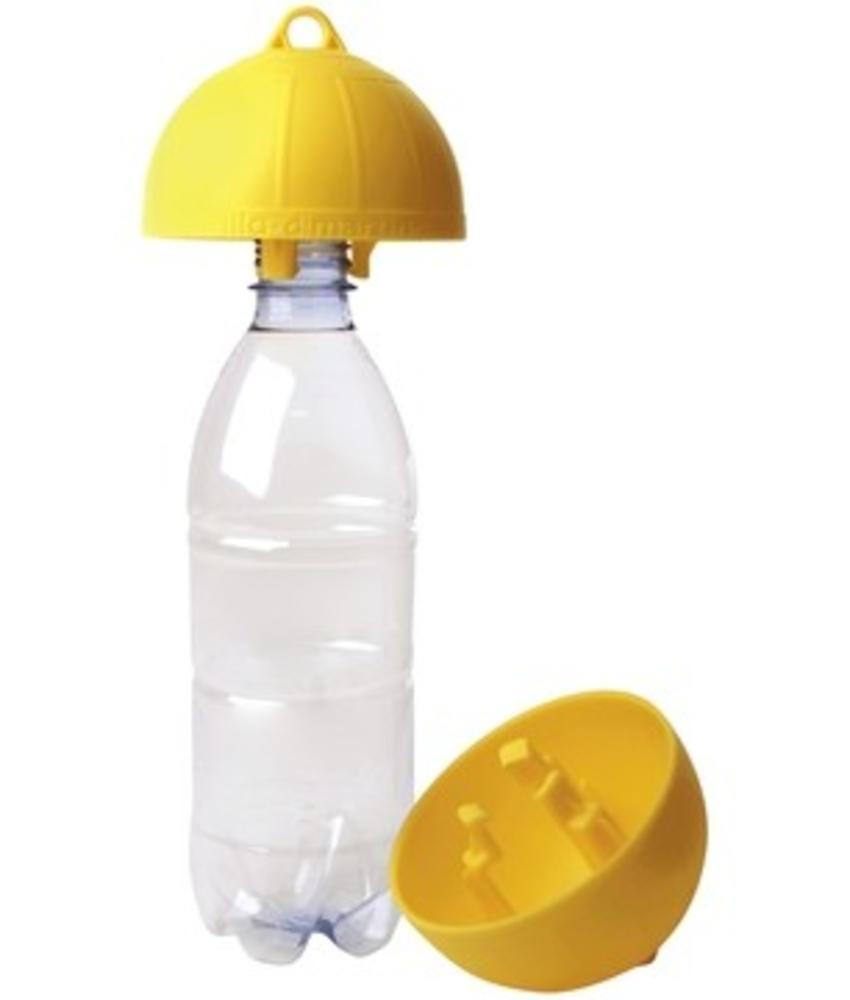 Wespenval op fles - geel