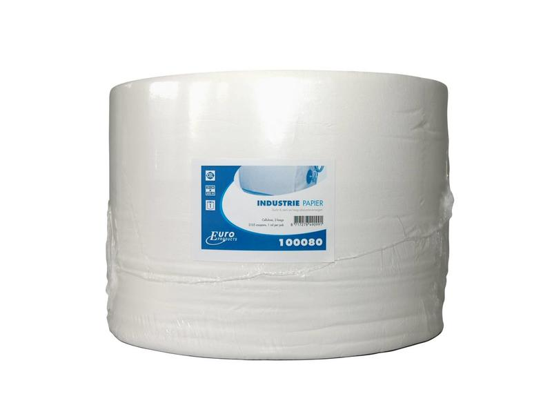 Euro Products Euro Products 2-laags Euro industriepapier, cellulose