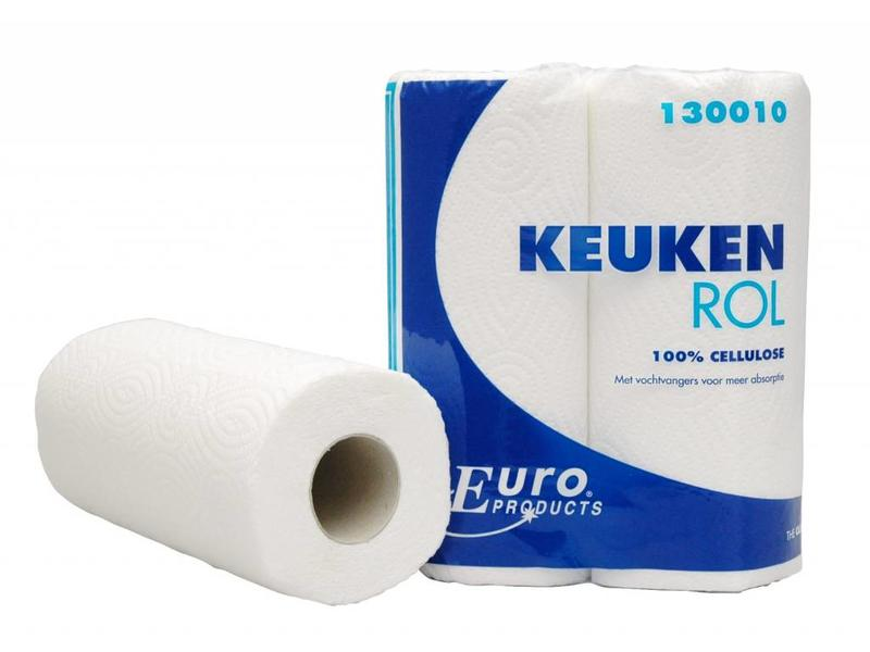 Euro Products Euro Products keukenrol 50 vel, 2-laags