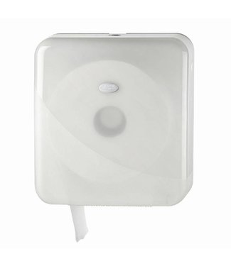 Euro Products Euro Products Pearl White Jumbo toiletrolhouder - Maxi