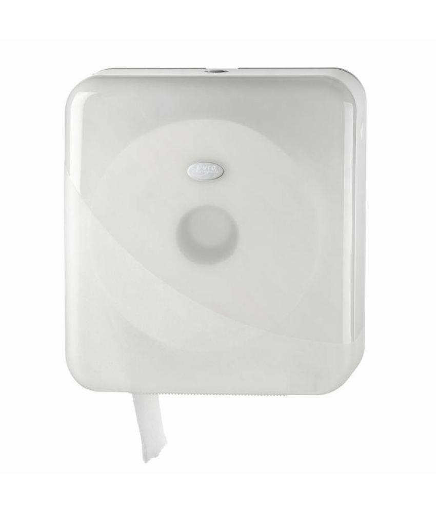 Euro Products Pearl White Jumbo toiletrolhouder - Maxi