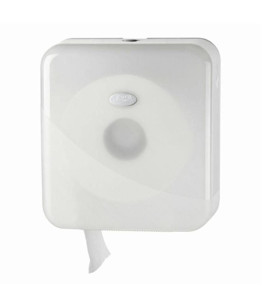 Euro Products Pearl White Jumbo toiletrolhouder - Mini