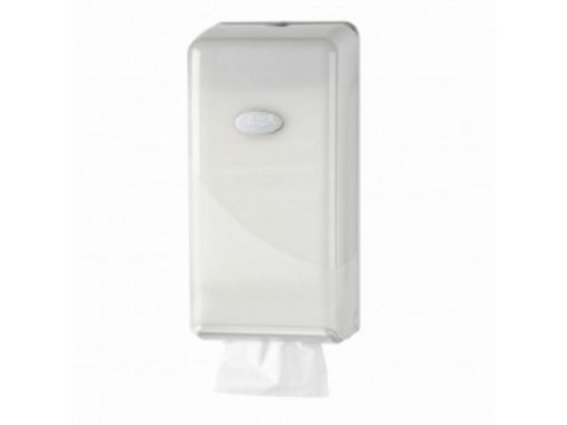 Euro Products Euro Products Pearl White Toilerpapier dispenser - Bulkpack
