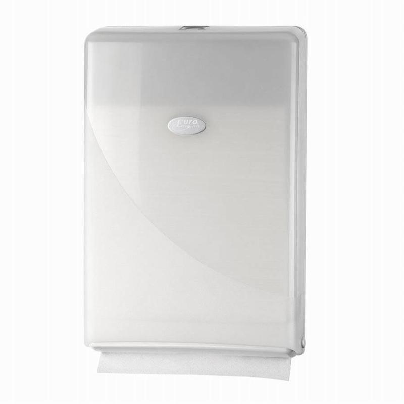 Euro Products Pearl White Handdoekdispenser - Minifold