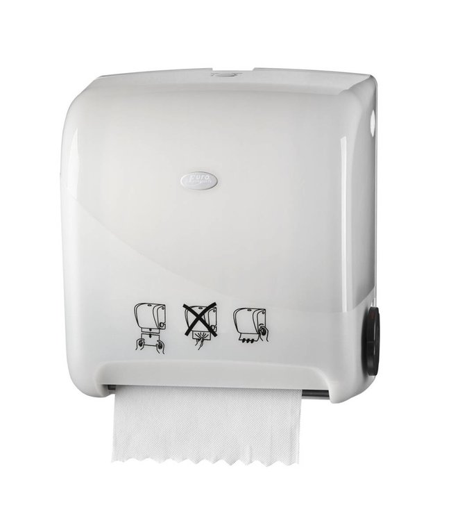 Euro Products Euro Products Pearl White Handdoekautomaat - Autocut Euro Matic