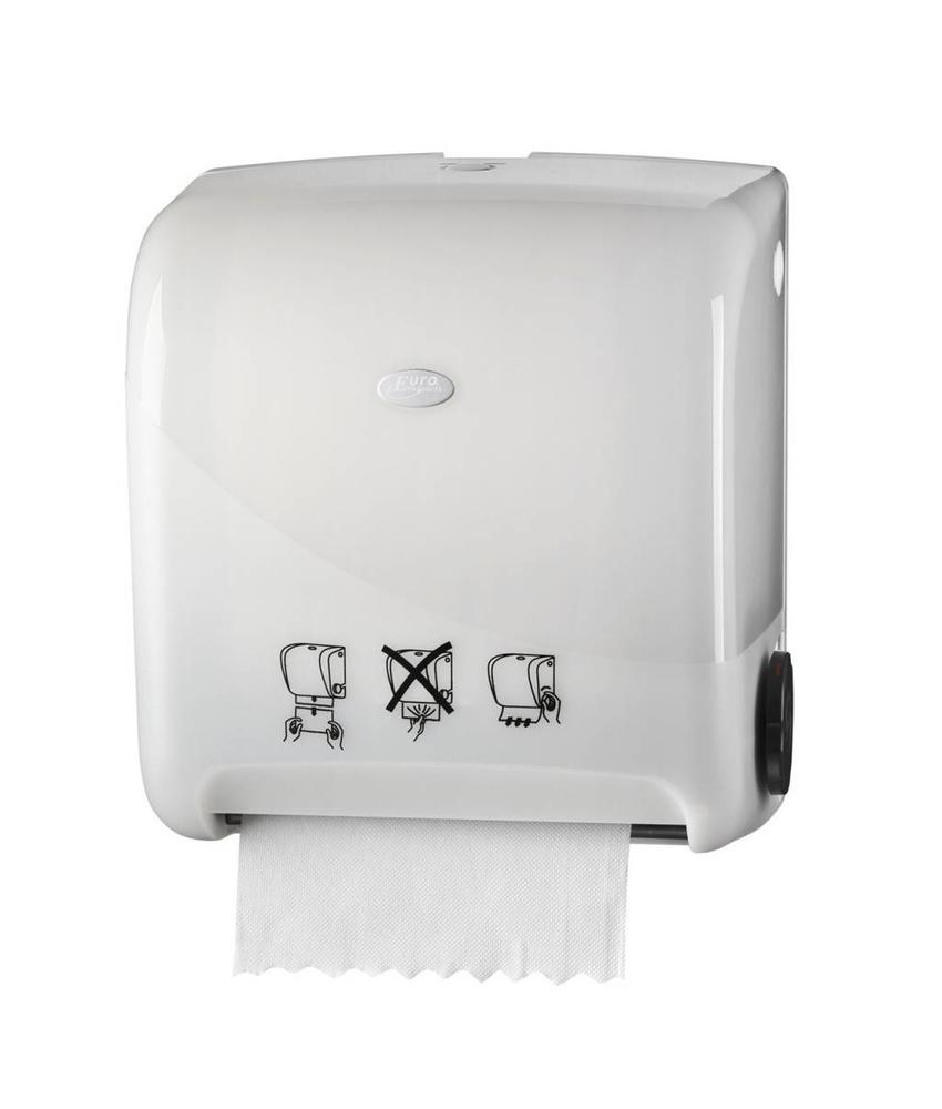 Euro Products Pearl White Handdoekautomaat - Autocut Euro Matic