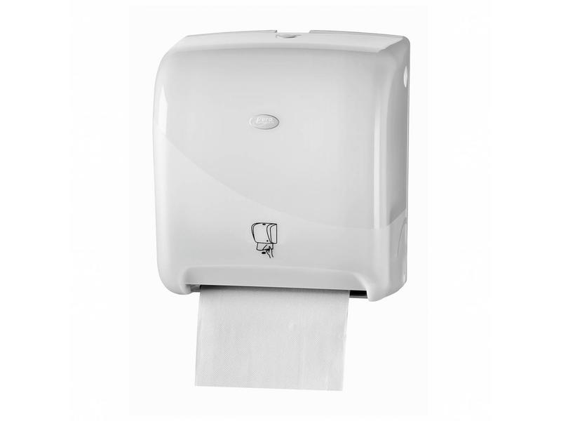Euro Products Euro Products Pearl White Handdoekautomaat - Tear & Go Euro Matic