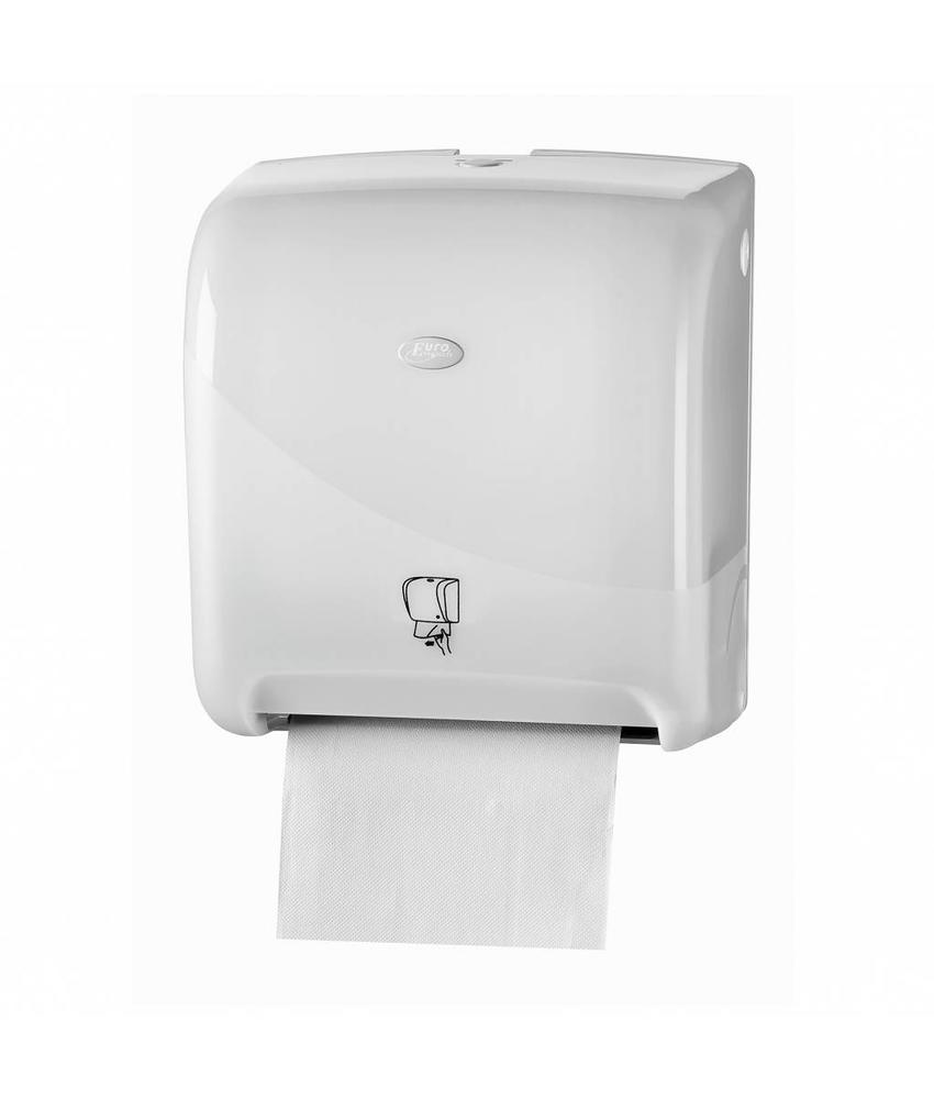 Euro Products Pearl White Handdoekautomaat - Tear & Go Euro Matic