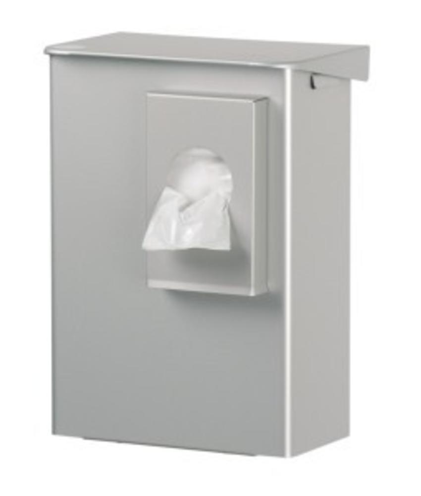 Euro Products gesloten hygiene afvalbak incl. zakhouder