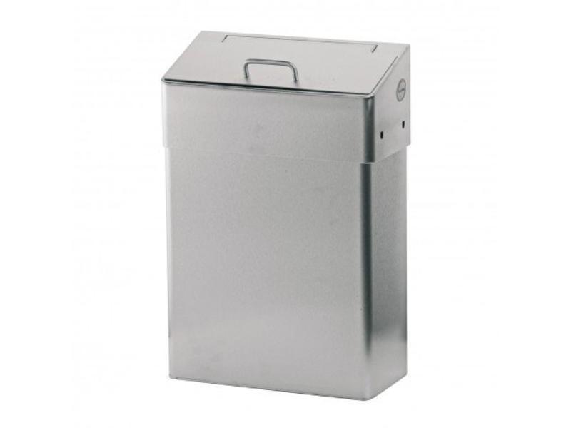 Euro Products Euro Products Hygiënebak met dichte inwerpklep - 10 liter
