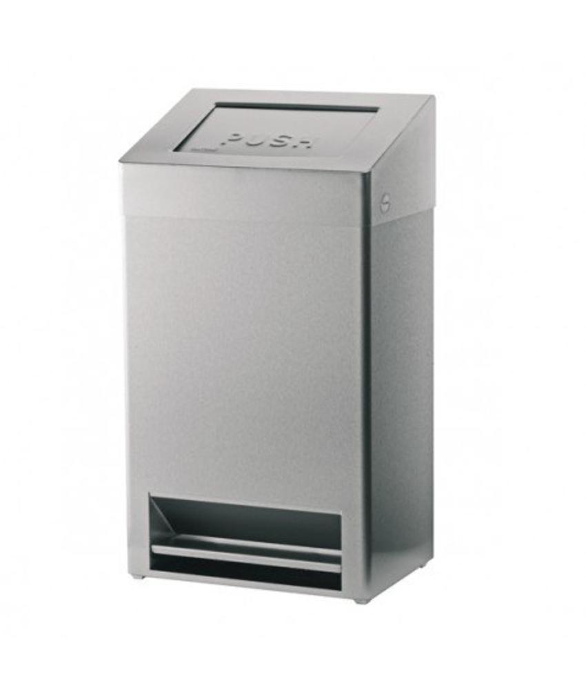 Euro Products Afvalbak met voetpedaal - 40 liter