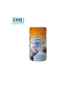 CMT CMT Desinfectie doekjes, wit 200 stuks
