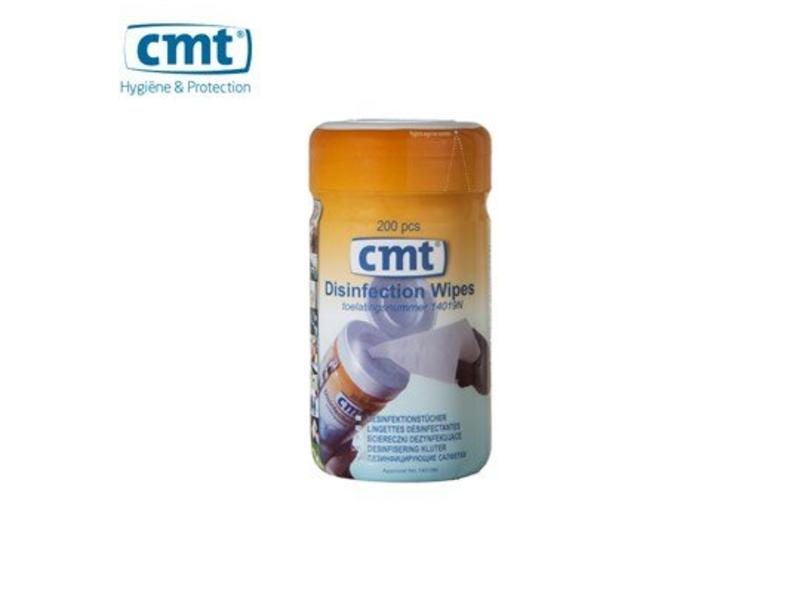 CMT Wandhouder voor Desinfectie doekjes, wit 200 stuks