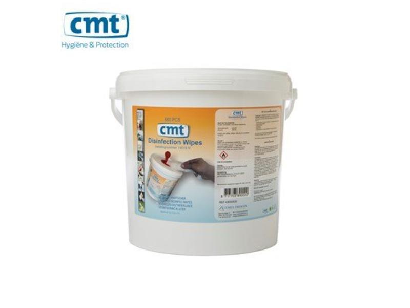 CMT Desinfectie doekjes, wit 680 stuks