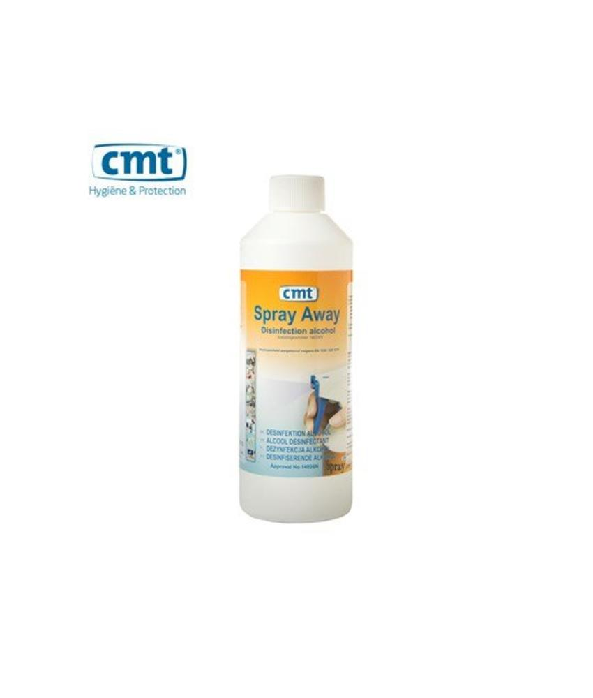 CMT Spray-Away Desinfectie Alcohol, 500 ml flacon