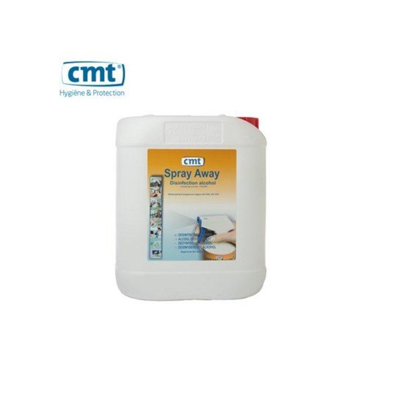 CMT Spray-Away Desinfectie Alcohol, 5 liter