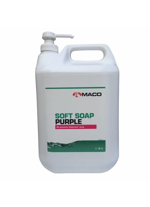 Maco Soft Zeep Paars - 5L can