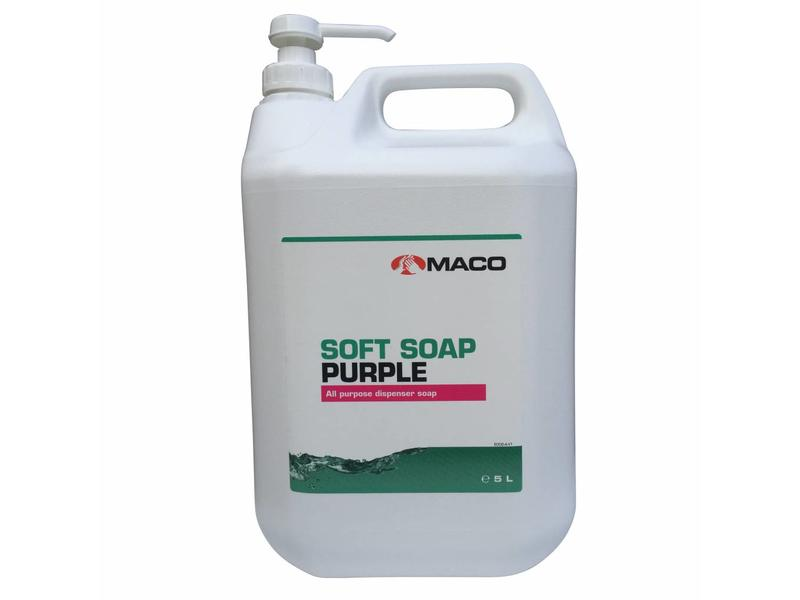 Maco Maco Soft Zeep Paars - 5L can
