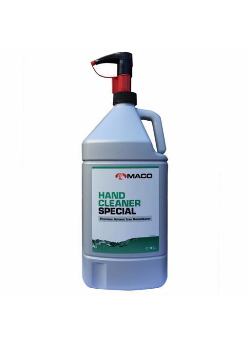 Maco Hand cleaner special - 4 liter fles + pomp