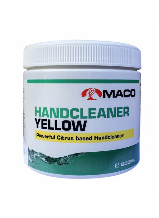 Maco Hand cleaner Yellow - 600 milliliter pot