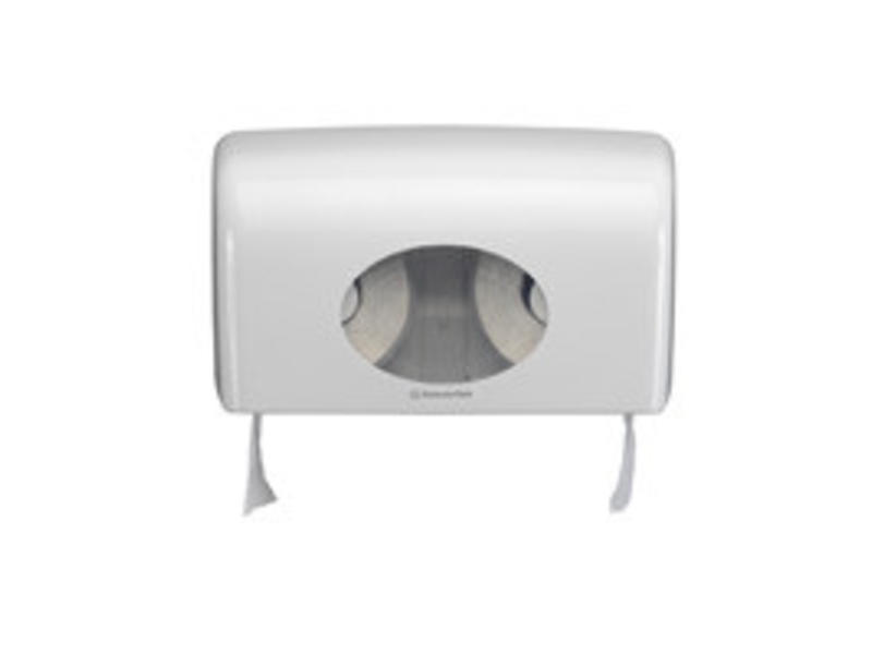 Kimberly Clark AQUARIUS* Toilettissue Dispenser - Kleine rollen - Wit