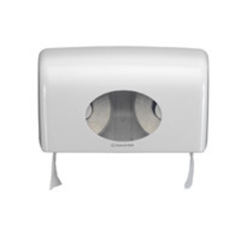 AQUARIUS* Toilettissue Dispenser - Kleine rollen - Wit