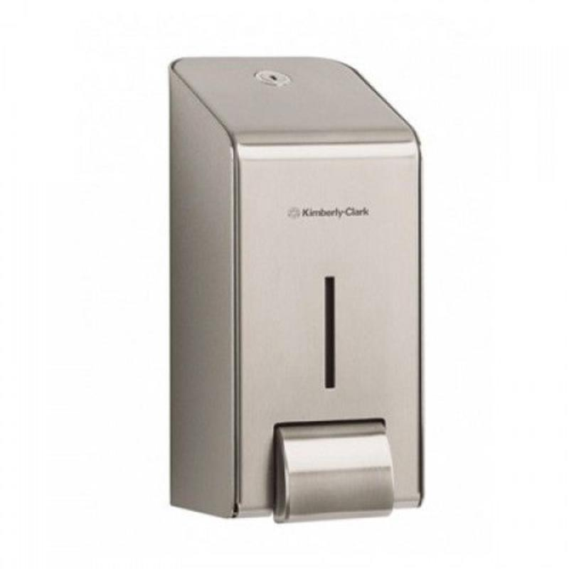 KIMBERLY-CLARK PROFESSIONAL* Handreiniger Dispenser - Cassette / 1 Ltr - Roestvrij staal