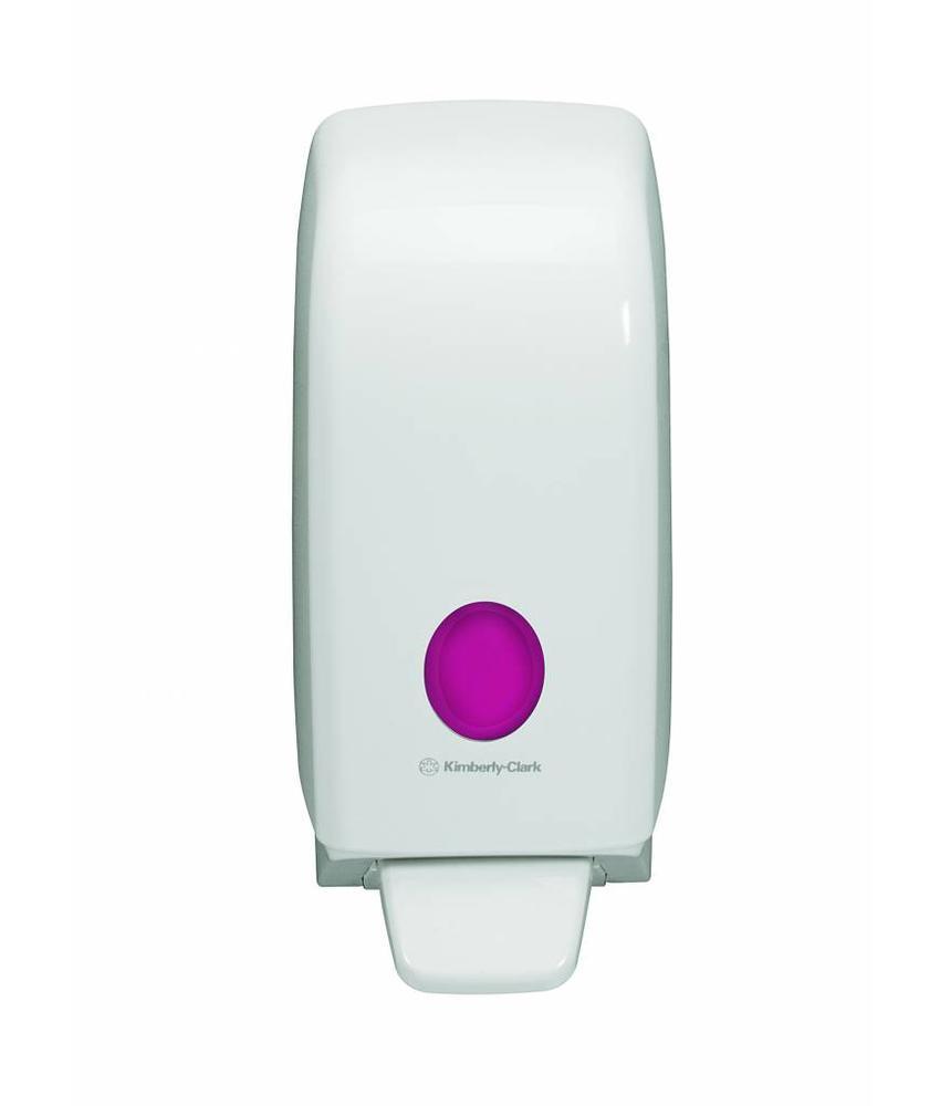 AQUARIUS* Handreiniger Dispenser - Cassette / 1 Ltr - Wit