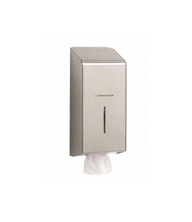 Kimberly Clark KIMBERLY-CLARK PROFESSIONAL* Toilettissue Dispenser - Roestvrij staal