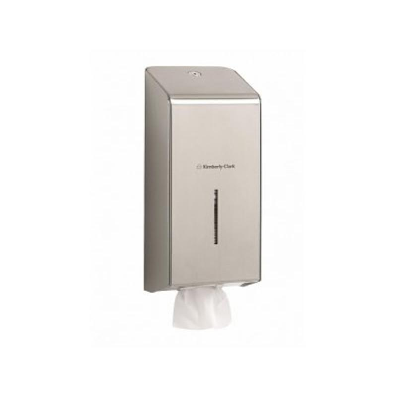 KIMBERLY-CLARK PROFESSIONAL* Toilettissue Dispenser - Roestvrij staal
