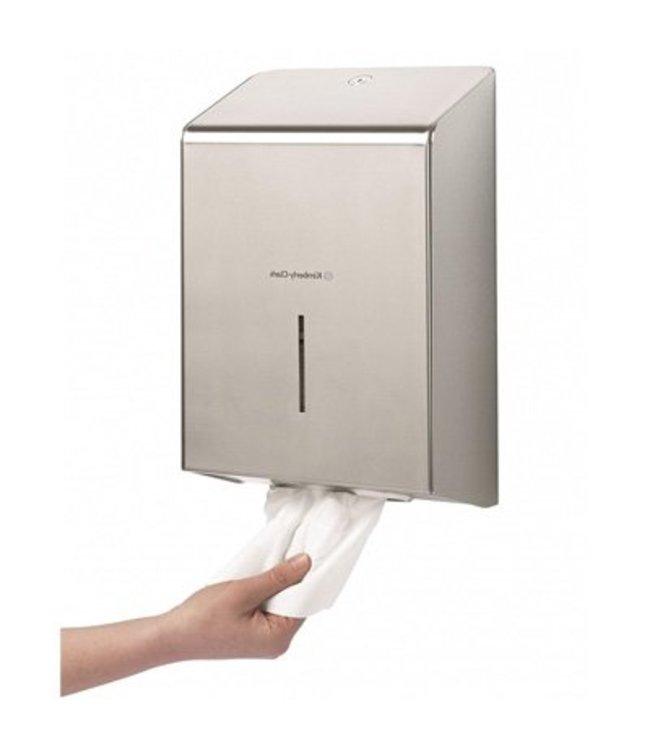 Kimberly Clark KIMBERLY-CLARK PROFESSIONAL* Handdoek Dispenser - Roestvrij staal