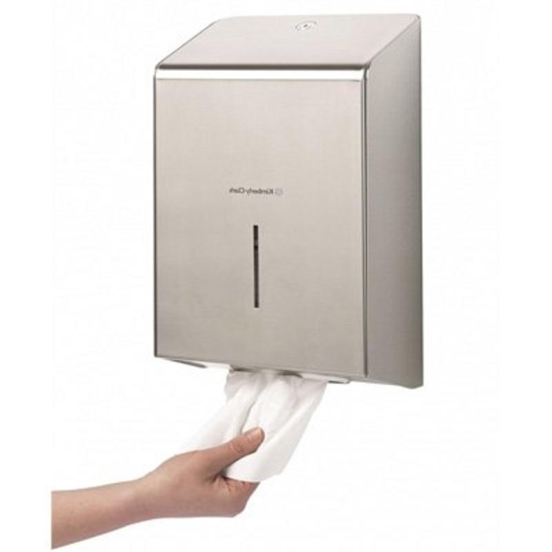 KIMBERLY-CLARK PROFESSIONAL* Handdoek Dispenser - Roestvrij staal