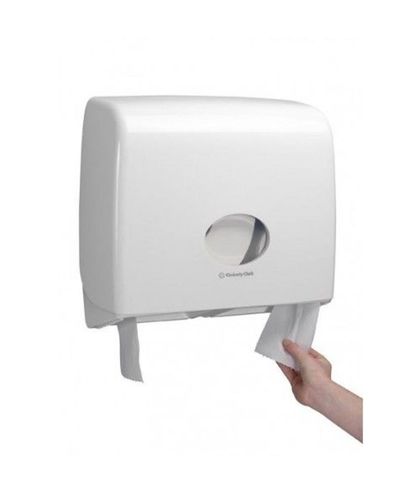 AQUARIUS* Toilettissue Dispenser - Jumbo Non-Stop - Wit