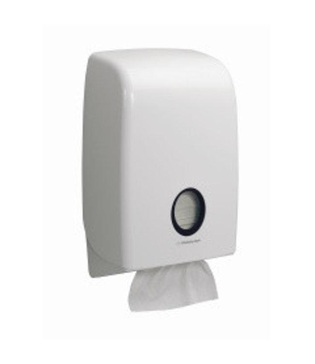 Kimberly Clark AQUARIUS* Gevouwen Handdoek Dispenser - Intergevouwen - Wit