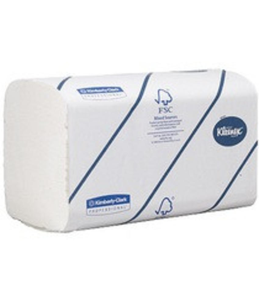 KLEENEX® ULTRA Handdoeken - Intergevouwen / Medium - Wit