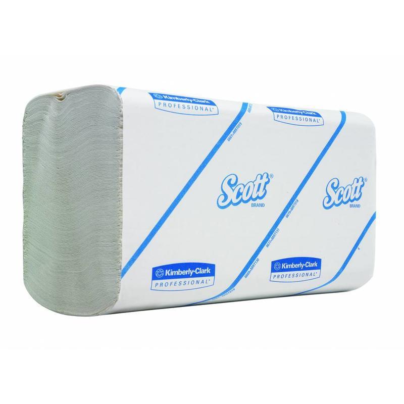SCOTT® PERFORMANCE Handdoeken - Intergevouwen / Klein - Wit