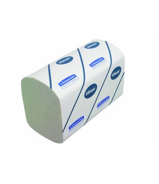 Kimberly Clark KLEENEX® ULTRA SUPER SOFT Handdoeken - Intergevouwen / Medium - Wit