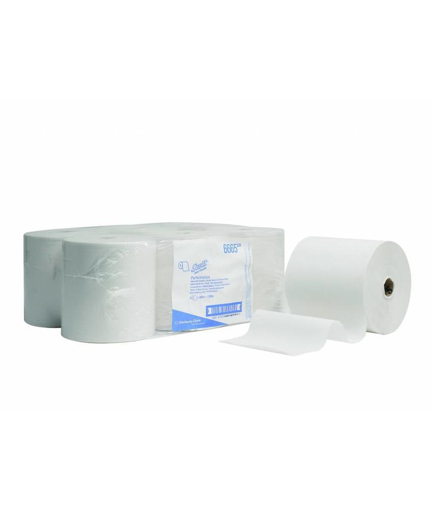 SCOTT® PERFORMANCE Handdoeken - Rol - Wit