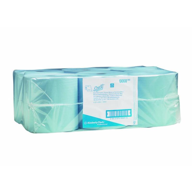 SCOTT® Handdoeken - Rol - Blauw