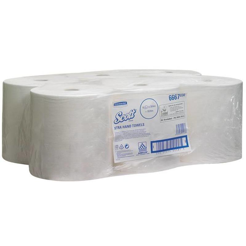 SCOTT® Handdoeken - Rol - Wit