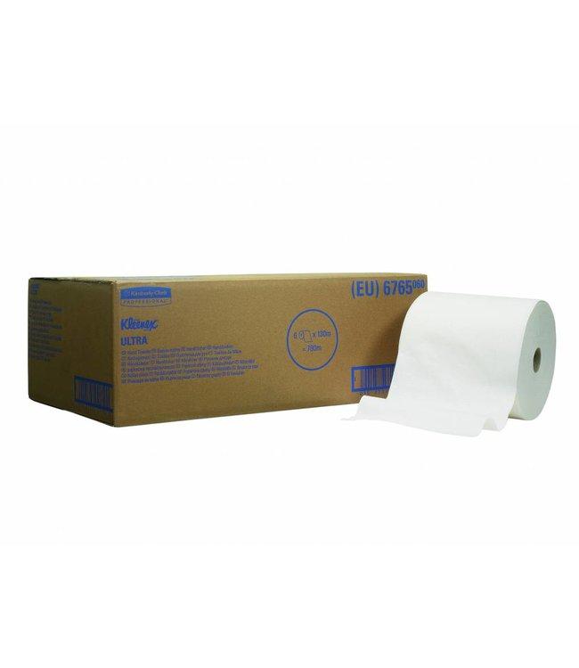Kimberly Clark KLEENEX® ULTRA Handdoeken - Rol - Wit