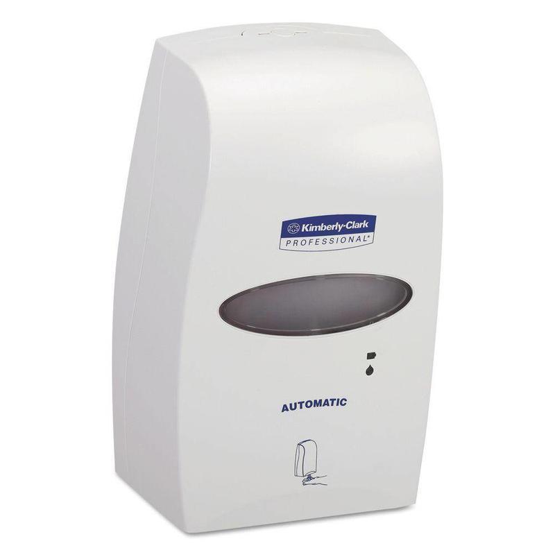 KIMBERLY-CLARK PROFESSIONAL* Elektronische No Touch Zeepdispenser - Cassette / 1.2 Ltr - Wit